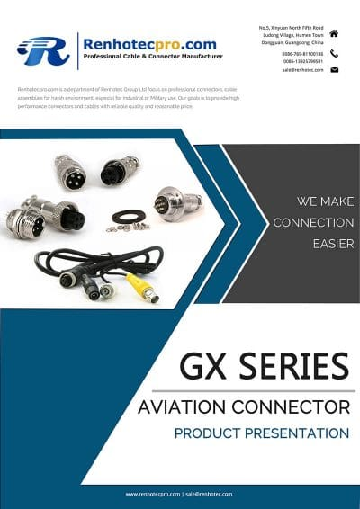 GX Aviation Connector Catalog