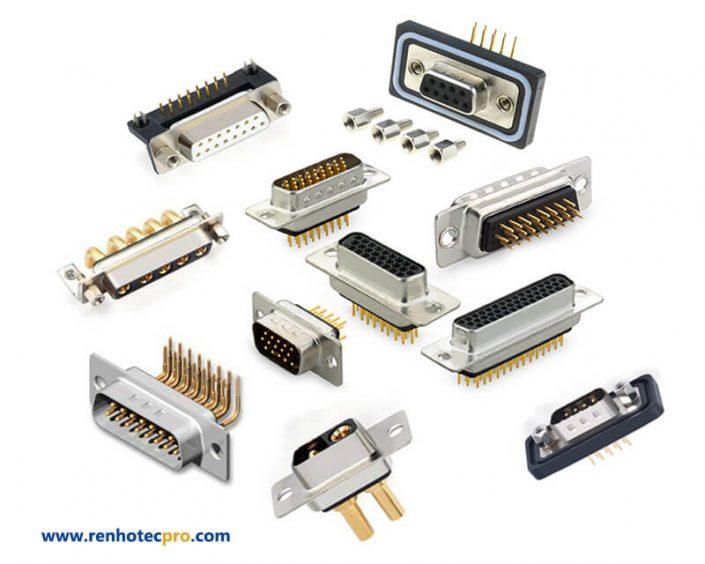 mil spec d sub connector manufacturer