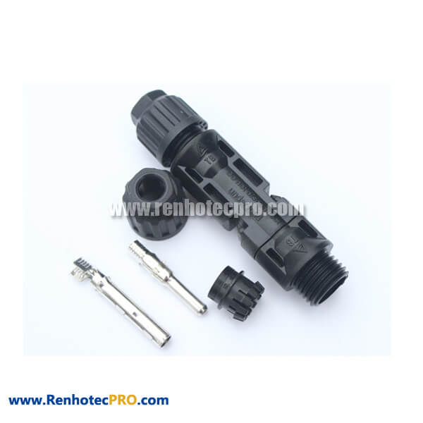MC4 Connector IP67 Female and Male Straight PV Connector