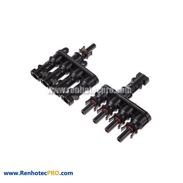 MC4 Connectors Solar 1 TO 4 Male and Female Branch Plug