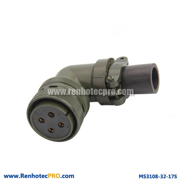 Military Specifitaion Connector MS 3108 4 Pins Socket MS 5015