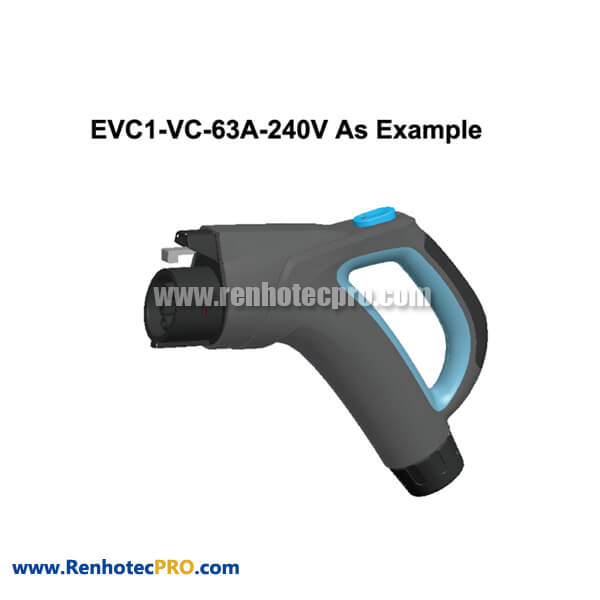 Type 1 Charging Port IEC 62196 High Performance EVC1 New Energy Connector for Electric Car