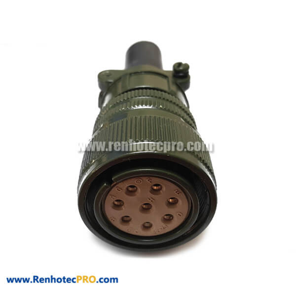 MS3106A22-23S 8 Pin Straight Plug Military Connector