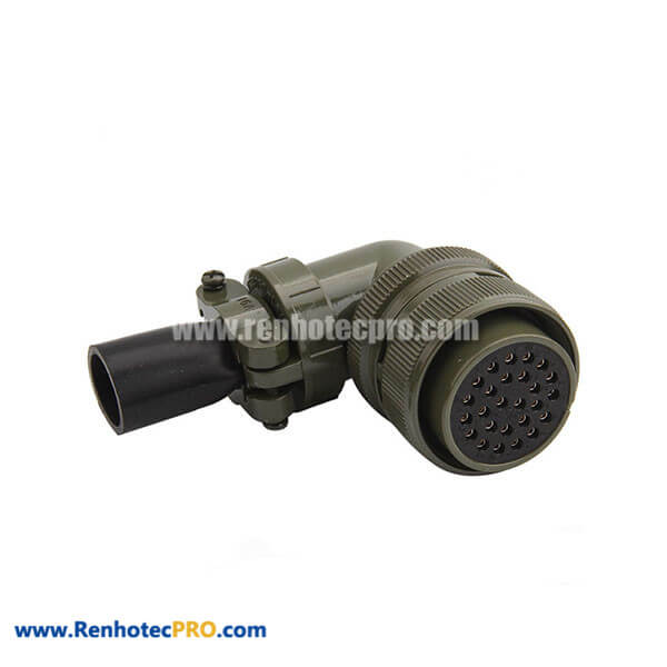 MS3108A28-12S Aluminum Alloy Socket 26 Pin Connector with Bushing