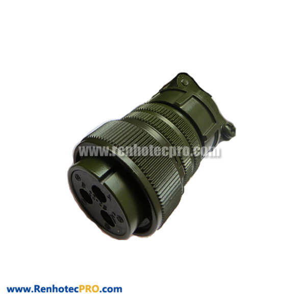 MS3106A22-2S DDK Cable Plug Military Circular 3 Pin Connector