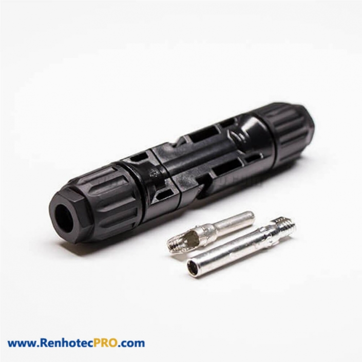 MC4 Connectors Cable One Pair Female Male Waterproof Solar Panel Connector