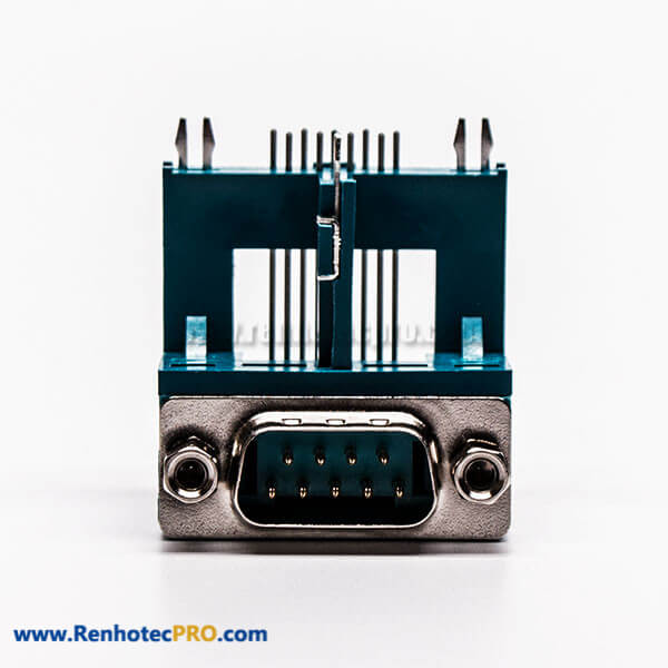 Top 15 P D Sub 90 Deg Clamp Male Elevated Type Green Connector for PCB