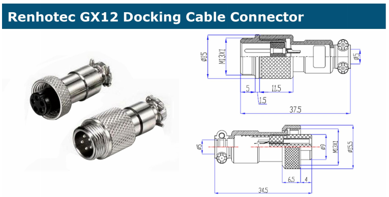 GX12 cable