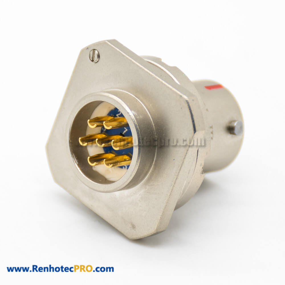 7Pin Circular Electric Connector Y11P Male Socket Aluminum alloy Solder cup Panel Mount 10 Shell Size Bayonet Coupling