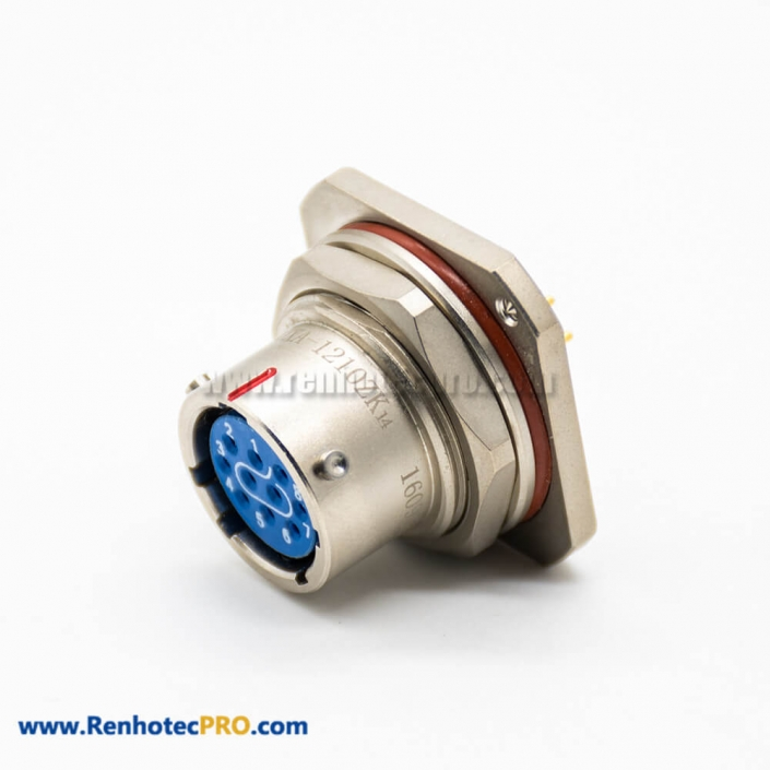 Connector With HVIL 1 Pin 14mm 500A Straight Metal IP67 Plug For 150mm² 0.5M Cable