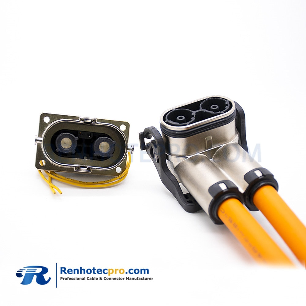 high-voltage cable、high-voltage connectors、HVIL