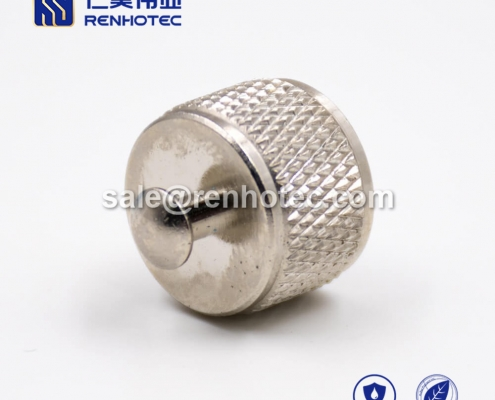 M8 Protection Cap Matel Without Chain For Male Connector